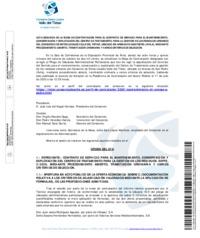 Acta Segunda de la Mesa de Contratación para el contrato de servicio para el mantenimiento, conservación y explotación del C.T.R.