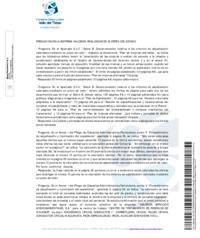 Respuestas a las preguntas sobre los Pliegos de la Empresa <strong>VALORIZA</strong>