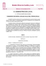 Estatutos del Consorcio Provincial de la Zona Norte (Carta de servicios)